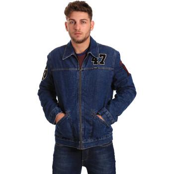 Textil Homem casacos de ganga Wrangler W4580512L Azul