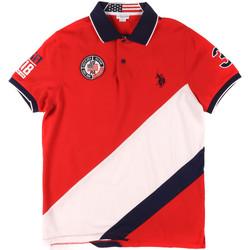 Textil Homem Polos mangas curta U.S Polo Assn. 43771 41029 Vermelho