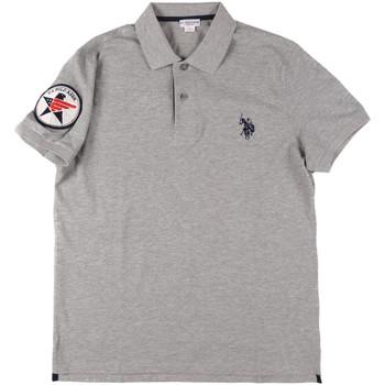 Textil Homem Polos mangas curta U.S Polo Assn. 43767 41029 Cinzento