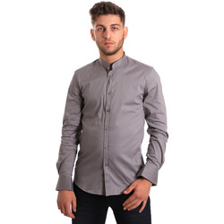 Textil Homem Camisas mangas comprida Antony Morato MMSL00376 FA450001 Cinzento