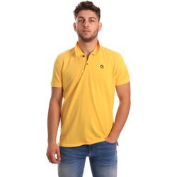 Textil Homem Polos mangas curta Gaudi 811BU64074 Amarelo