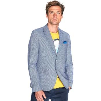Textil Homem Casacos/Blazers Gaudi 811FU35035 Azul