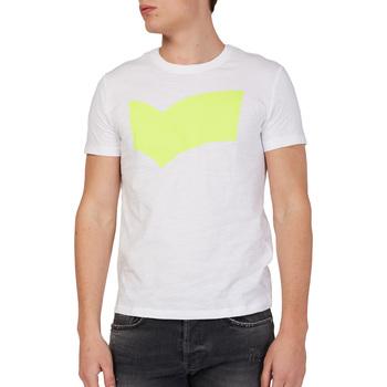 Textil Homem T-Shirt mangas curtas Gas 542973 Branco