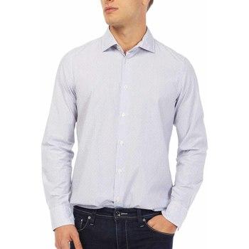 Textil Homem Camisas mangas comprida Gas 151144 Azul