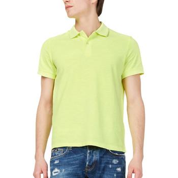 Textil Homem Polos mangas curta Gas 310174 Amarelo