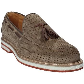 Sapatos Homem Mocassins Exton 675 Castanho