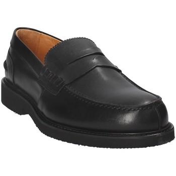 Sapatos Homem Mocassins Exton 9102 Preto