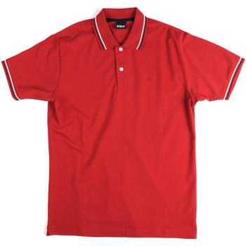 Textil Homem Polos mangas curta Key Up 2Q70G 0001 Vermelho