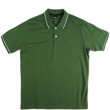 Textil Homem Polos mangas curta Key Up 2Q70G 0001 Verde
