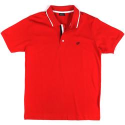 Textil Homem Polos mangas curta Key Up 2Q711 0001 Vermelho