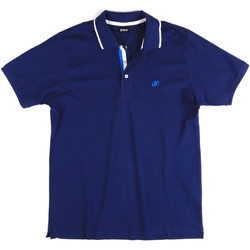 Textil Homem Polos mangas curta Key Up 2Q711 0001 Azul