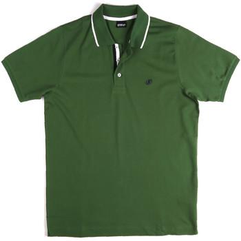 Textil Homem Polos mangas curta Key Up 2Q711 0001 Verde
