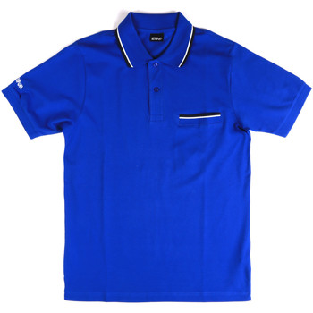 Textil Homem Polos mangas curta Key Up 2Q827 0001 Azul
