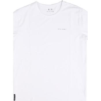 Textil Homem T-Shirt mangas curtas Key Up 2G69S 0001 Branco