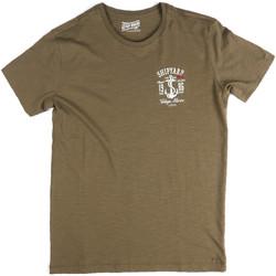 Textil Homem T-Shirt mangas curtas Key Up 2G77S 0001 Verde