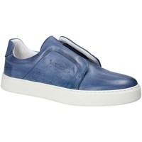 Sapatos Homem Slip on Exton 511 Azul