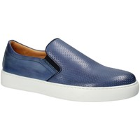 Sapatos Homem Slip on Exton 515 Azul