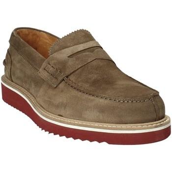 Sapatos Homem Mocassins Exton 5102 Castanho