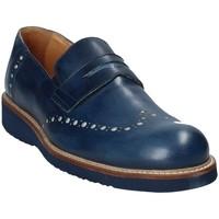 Sapatos Homem Mocassins Exton 885 Azul