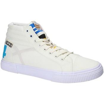 Sapatos Homem Sapatilhas de cano-alto Gas GAM810152 Branco