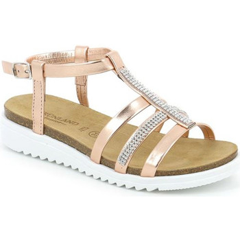 Sapatos Rapariga Sandálias Grunland SB0287 Rosa