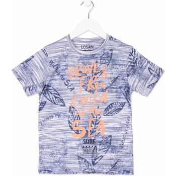 Textil Criança T-Shirt mangas curtas Losan 813-1023AA Azul