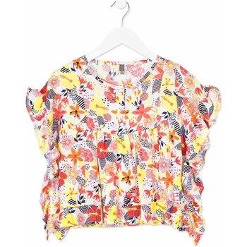 Textil Rapariga camisas Losan 814-3003AB Laranja