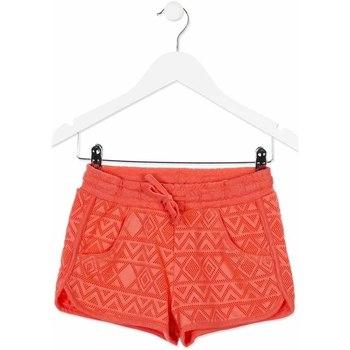Textil Criança Shorts / Bermudas Losan 814-6019AB Laranja