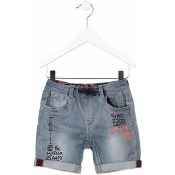 Textil Criança Shorts / Bermudas Losan 815-6012AC Cinzento