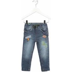 Textil Criança Calças de ganga slim Losan 815-6019AC Cinzento