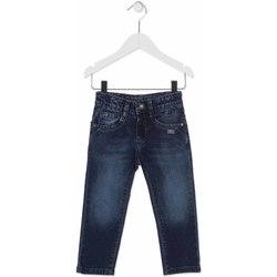 Textil Criança Calças de ganga slim Losan 815-9014AC Azul