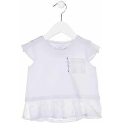 Textil Rapariga camisas Losan 816-1016AD Branco