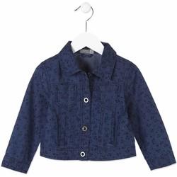 Textil Criança casacos de ganga Losan 816-2002AD Azul