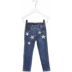 Textil Criança Calças de ganga slim Losan 816-6013AD Azul