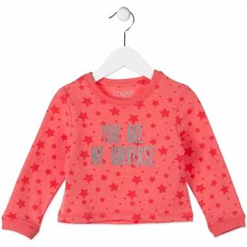 Textil Criança Sweats Losan 816-6023AD Rosa