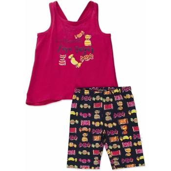 Textil Rapariga Conjunto Losan 816-8044AD Rosa