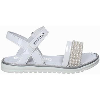 Sapatos Rapariga Sandálias Melania ME4094D8E.B Branco