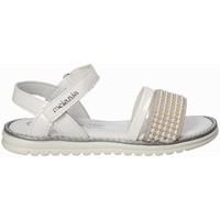 Sapatos Rapariga Sandálias Melania ME6094F8E.B Branco