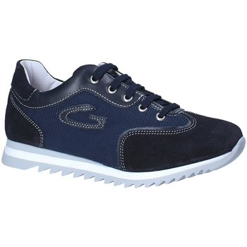 Sapatos Rapaz Sapatilhas Guardiani GK25343G Azul