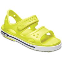 Sapatos Criança Sandálias Crocs 14854 Amarelo