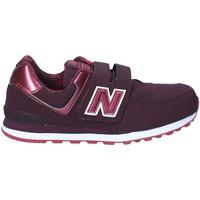Sapatos Criança Sapatilhas New Balance NBKV574F2Y Vermelho