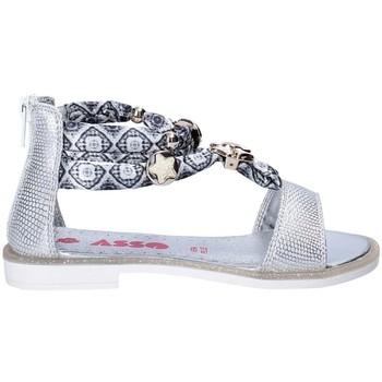 Sapatos Rapariga Sandálias Asso 64075 Cinzento