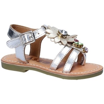 Sapatos Rapariga Sandálias Asso 55002 Cinzento