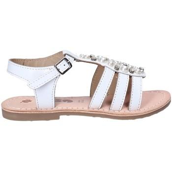 Sapatos Rapariga Sandálias Asso 65952 Branco