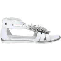 Sapatos Rapariga Sandálias Melania ME6092F8E.C Branco
