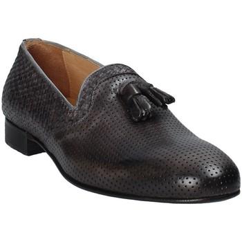 Sapatos Homem Mocassins Exton 1059 Cinzento