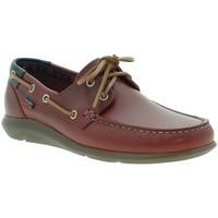 Sapatos Homem Sapato de vela CallagHan 14400 Vermelho