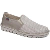 Sapatos Homem Slip on CallagHan 14505 Bege