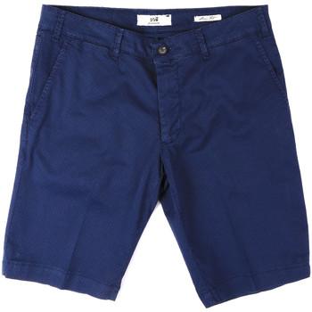 Textil Homem Shorts / Bermudas Sei3sei PZV132 8136 Azul