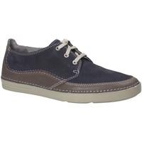 Sapatos Homem Sapatos Clarks 132574 Azul